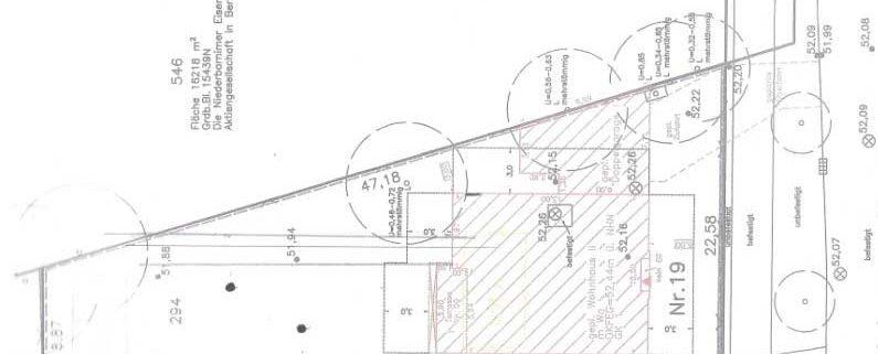 Beispiel Lageplan Garten